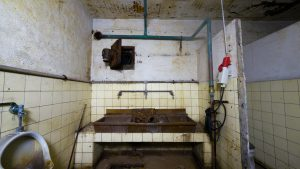 Das Männer-WC.